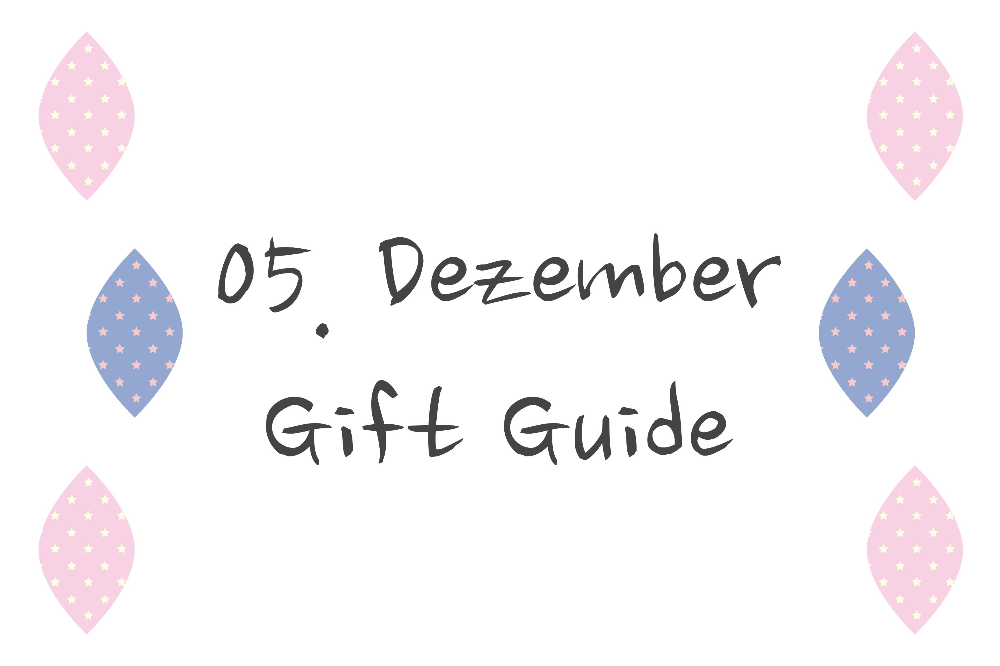 5. Dezember – gift guide