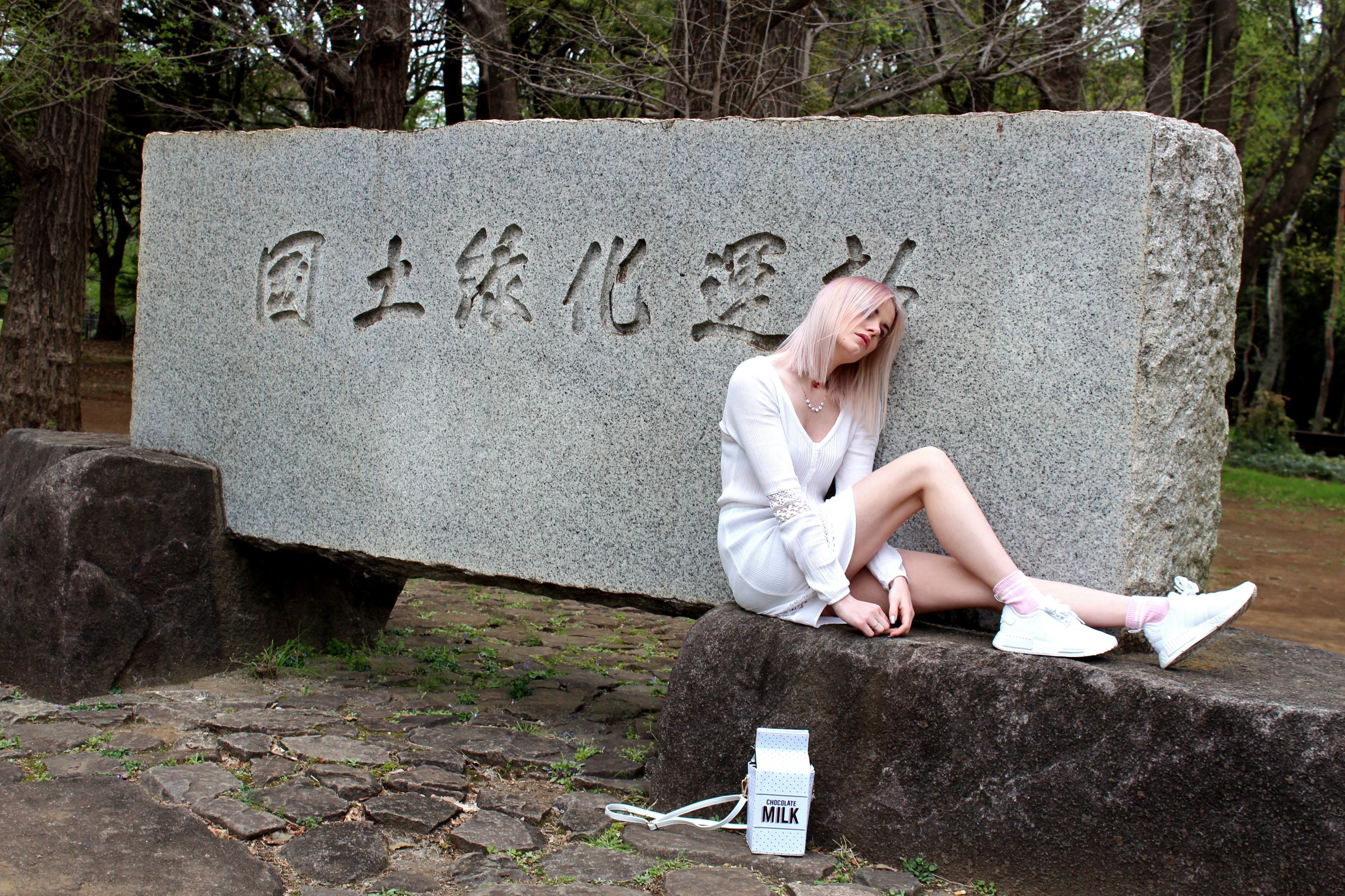 white sun and new hair – Tokyo Outfit 2